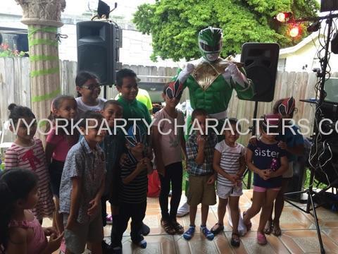 Power Ranger Green NY