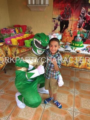 Power Ranger Green NYC