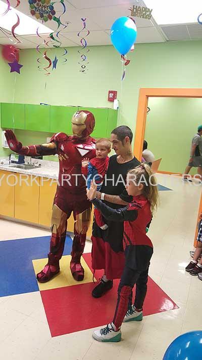 Iron Man new york