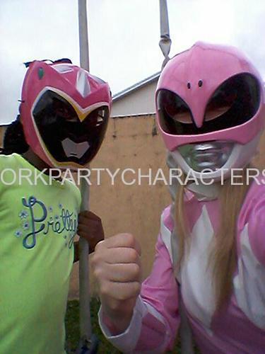 Power Ranger Pink New York