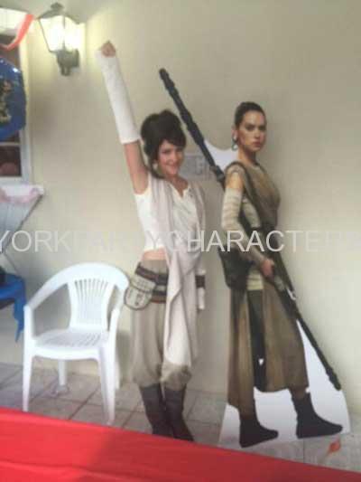 Star Wars Rey NY