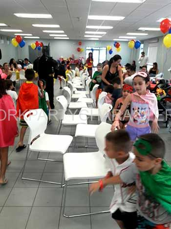 kids party games new york