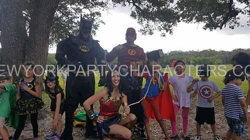 batman superhero party