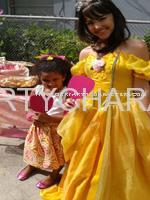 Princess Belle Character Party