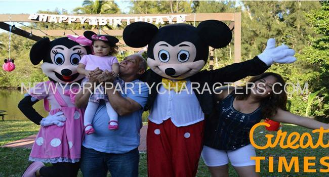 mickey mouse character party