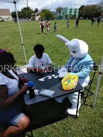 Easter Bunny Game Character NY